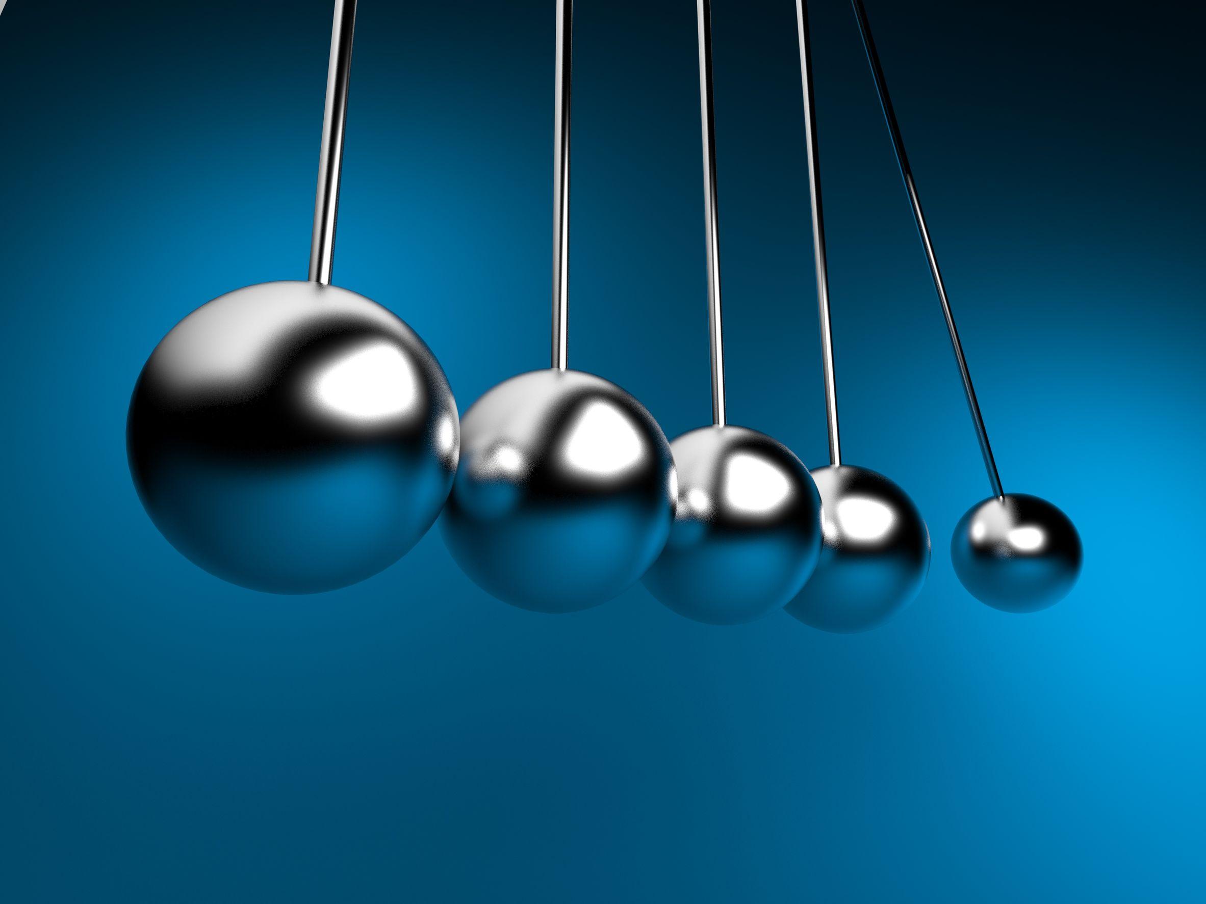 balancing  pendulum