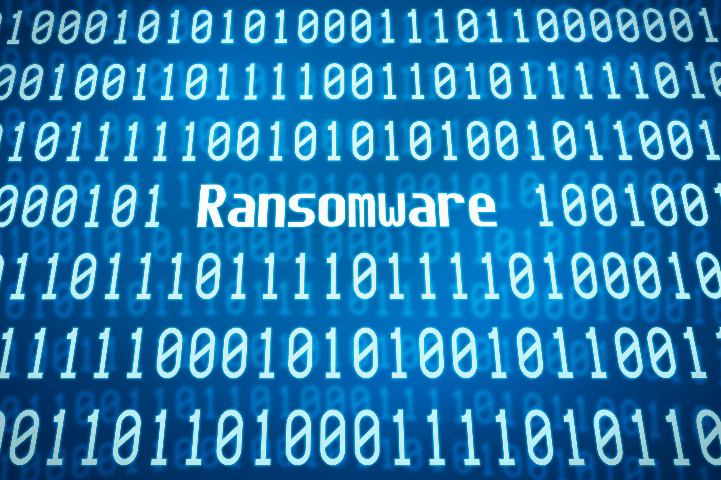 Ransomware binary code