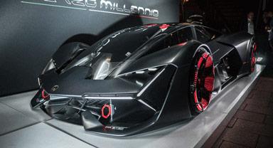 Lamborghini self healing sports car