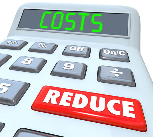 saving on maintenance costs